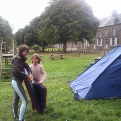 campement au village de longuerac,   marais et le bois de limors,   2 jours