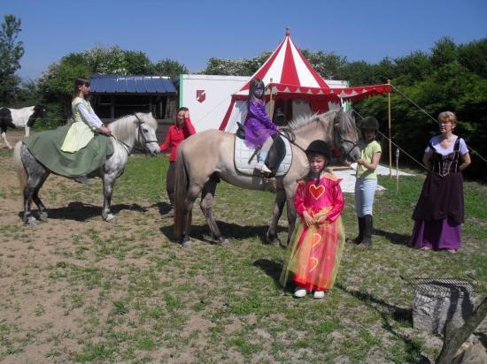 Animations equestres  Médiévale