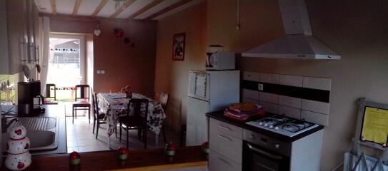 Gîte ( la cuisine )