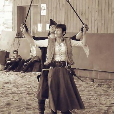 Michmarionnette, Thor Wulf avec Fabiola en cracheur de feu