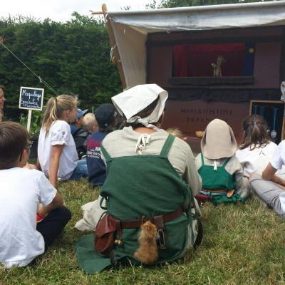 spectacle de marionnettes Viking