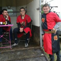 Mes chevaliers ( belle brochette de gendres)
