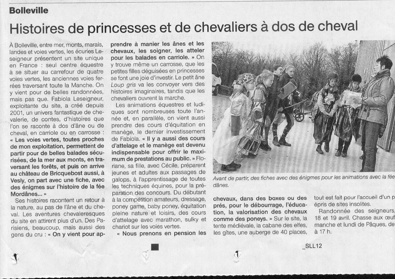 Ouest france mars 2015 manic1