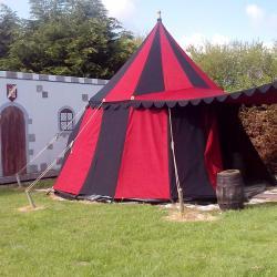 Tente Médiévale exterieur