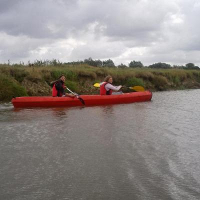 si le courage vous en dit a la rando a cheval canoé kayak sur le marais