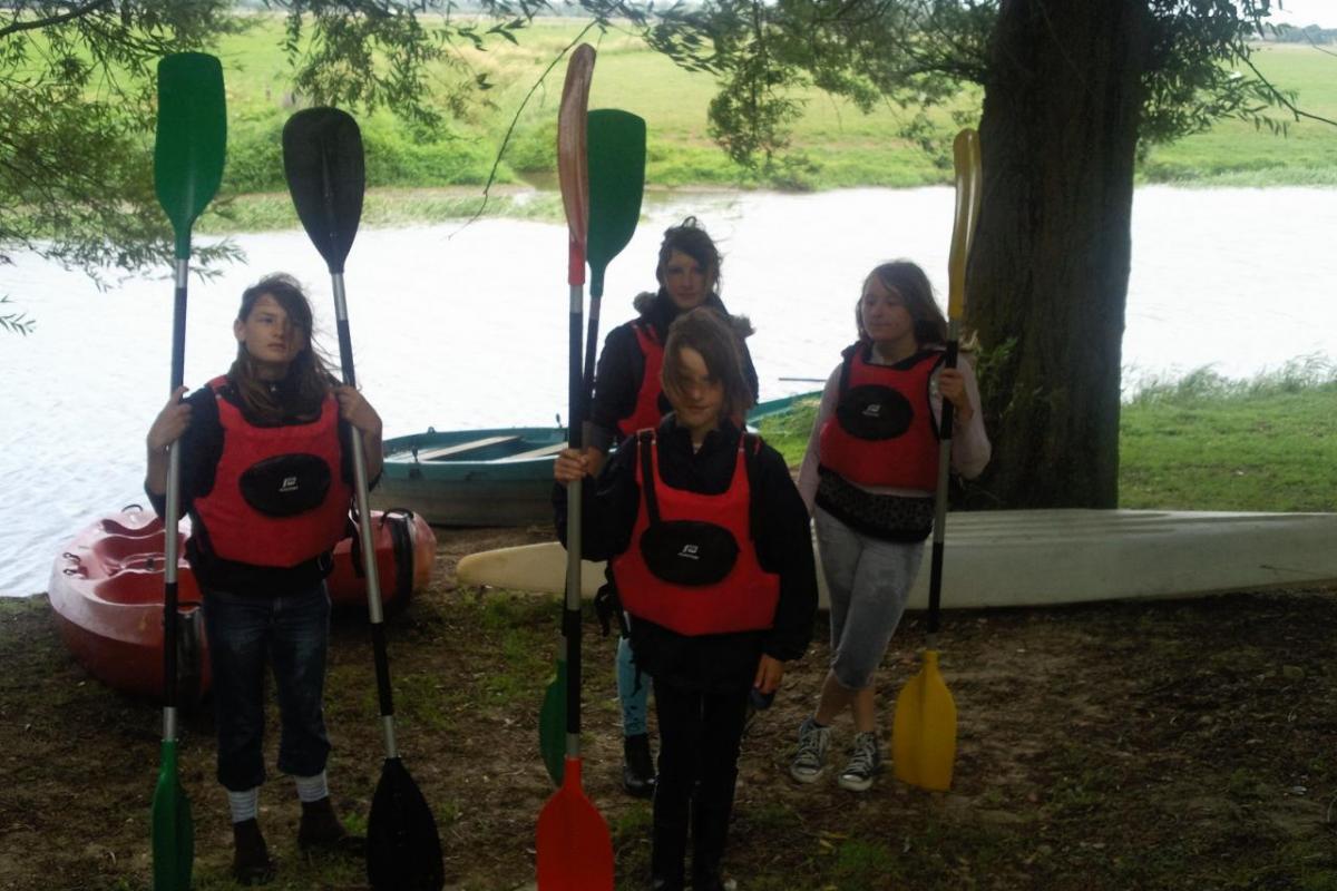 étape canoé kayak en rando 2 jours