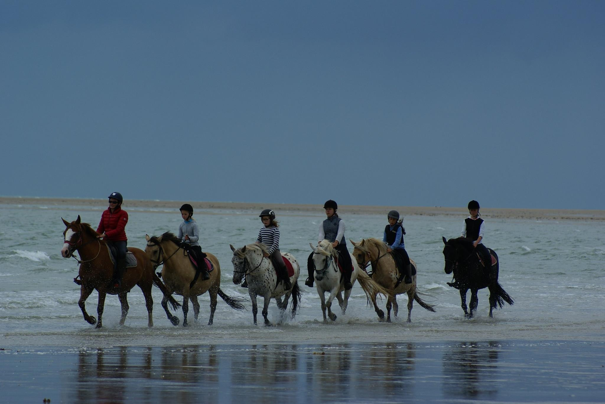 promenade equestre mer