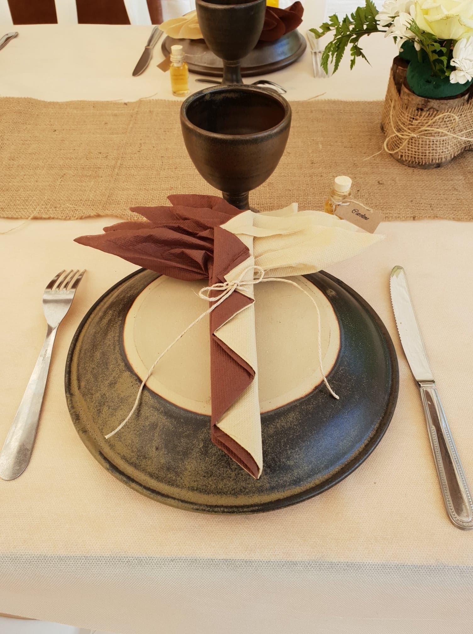 mariage vaisselle ecuelle et graal