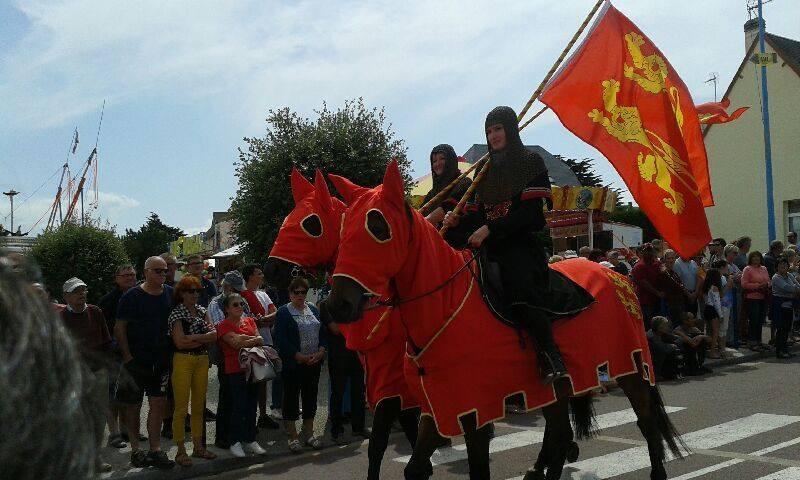 Défilé équestres Médiéval Normand