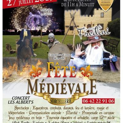 Fêtes Médiévales 2019. 2021