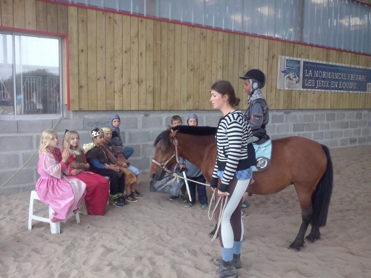 animations equestres ,spirit ballon 020
