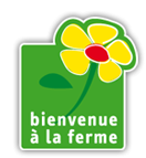 Label bienvenue a la ferme,