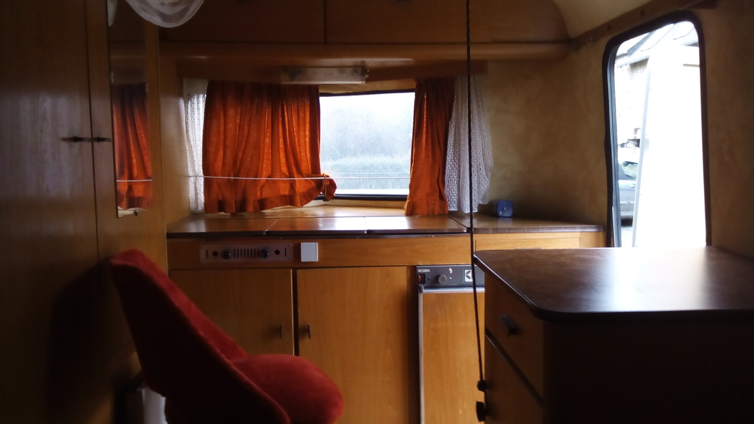 caravane coté cuisine