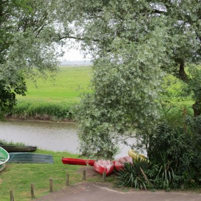 canoé, kayak  au village de Longuerac