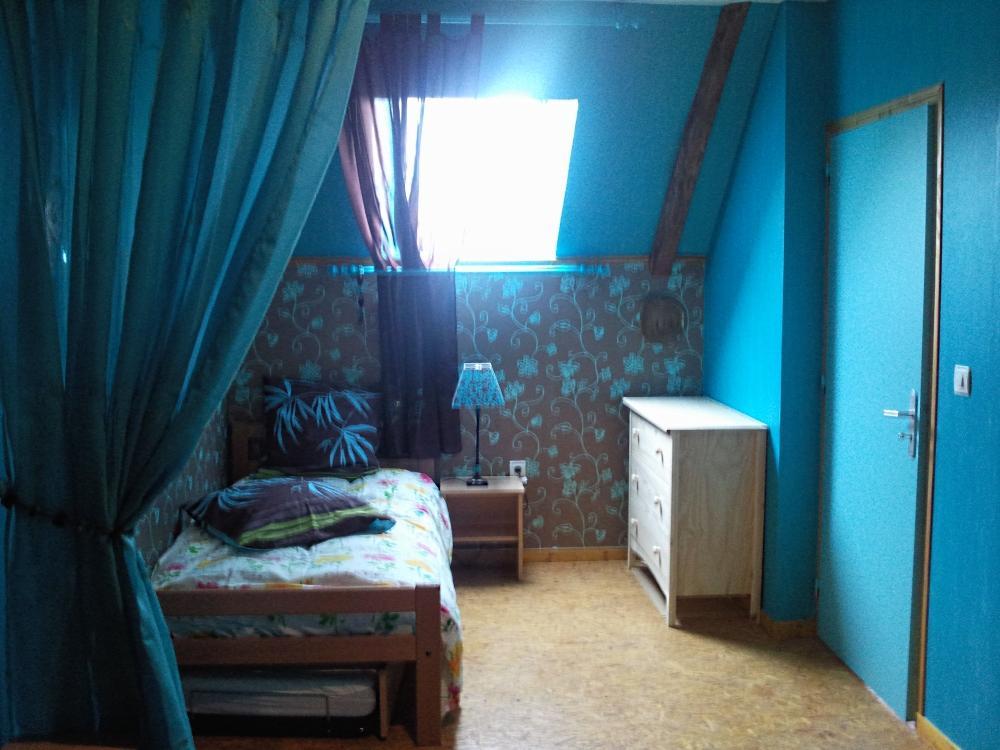 1 Chambre bleu