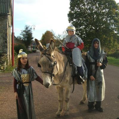 animation équestre  rallye des chevaliers
