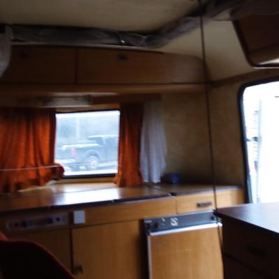 interieur caravane